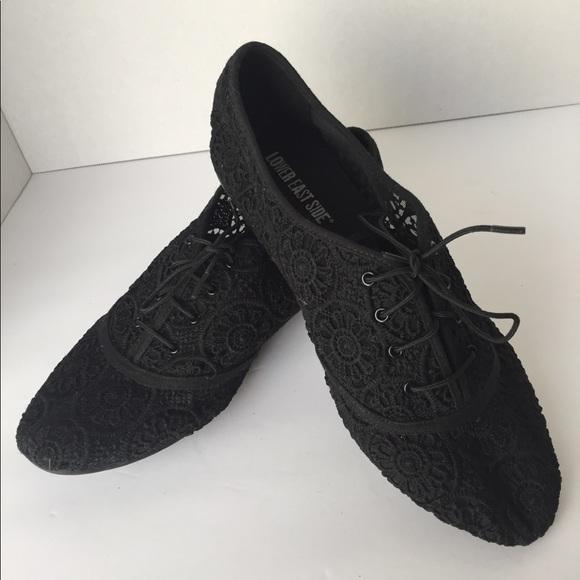 Women s Lower East Side Black Lace oxfords 10 1404f1aaf